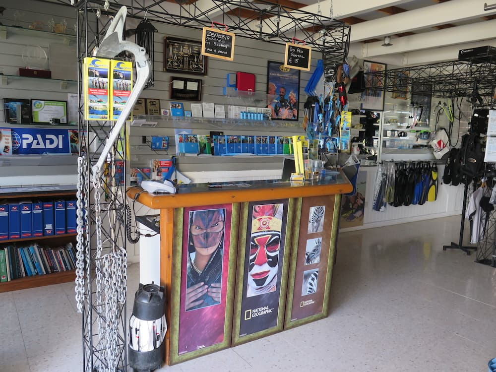 Coral Bay Divers Shop 1