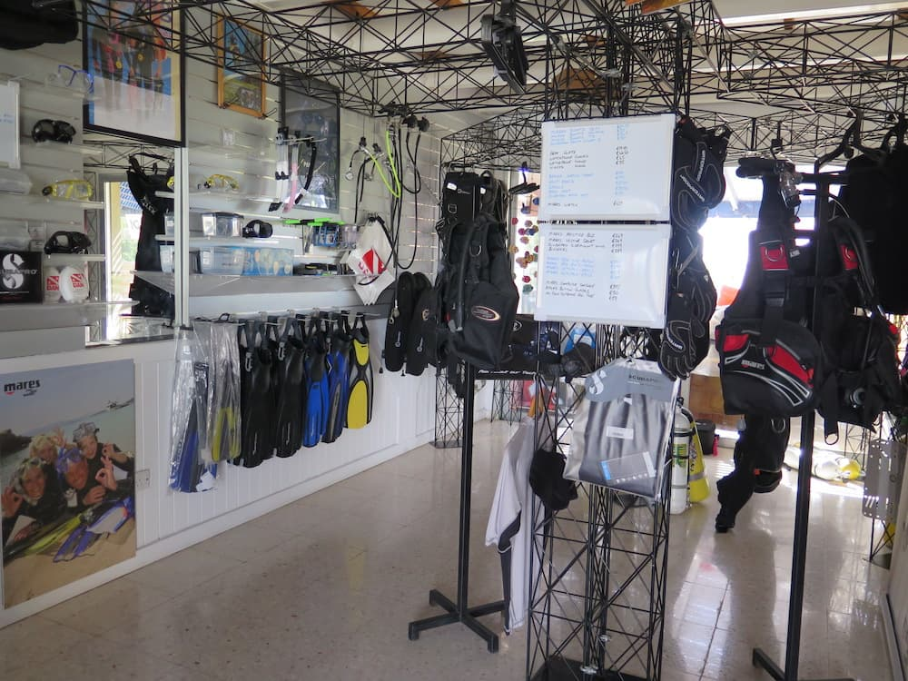 Coral Bay Divers Shop 2