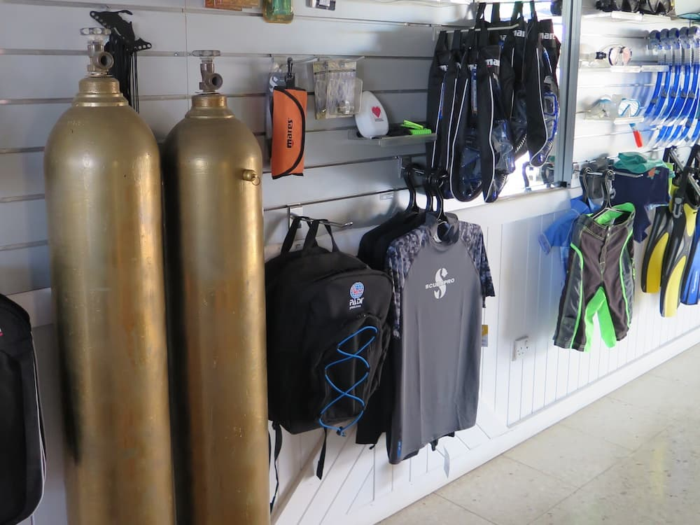Coral Bay Divers Shop 3